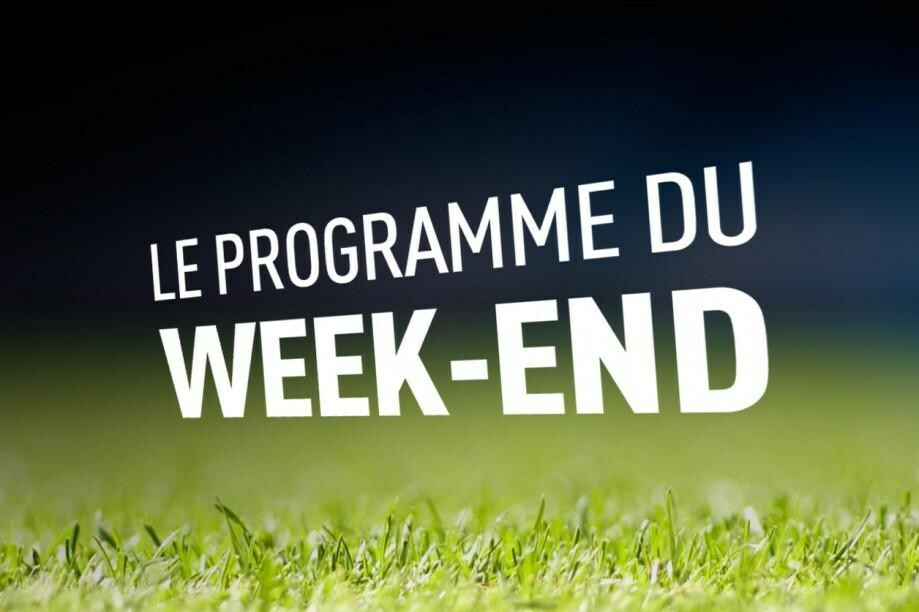 Programme du Weekend 10-11 Octobre 2020